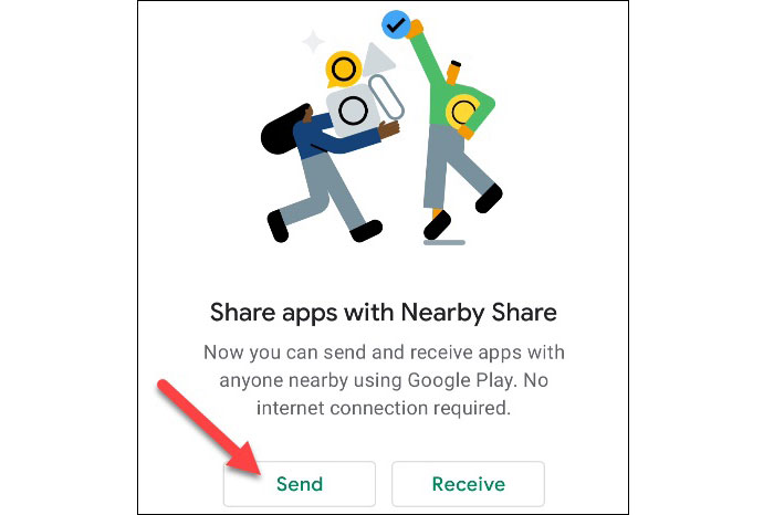 Sharing Apps and Games 4